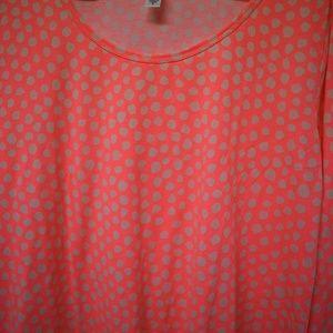 Lularoe Lynnae Long Sleeve Shirt Top Medium New